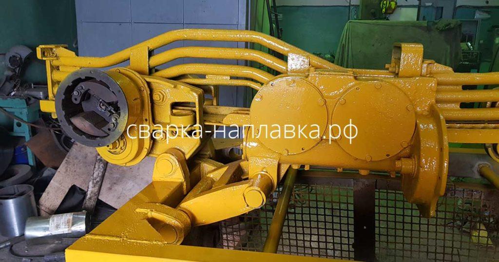 Ремонт шахтного оборудования. Рама КПВ-4А