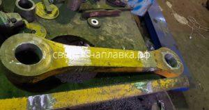 Ремонт отверстий серьги ПДМ САТ 1700