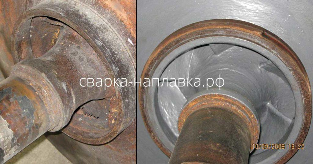 Восстановительный ремонт оборудования полимерными материалами